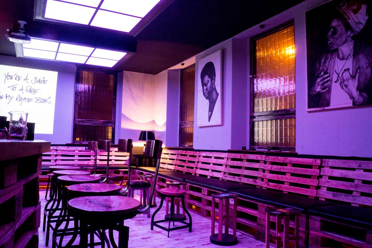 Bars in Bamberg : der Plattenladen.