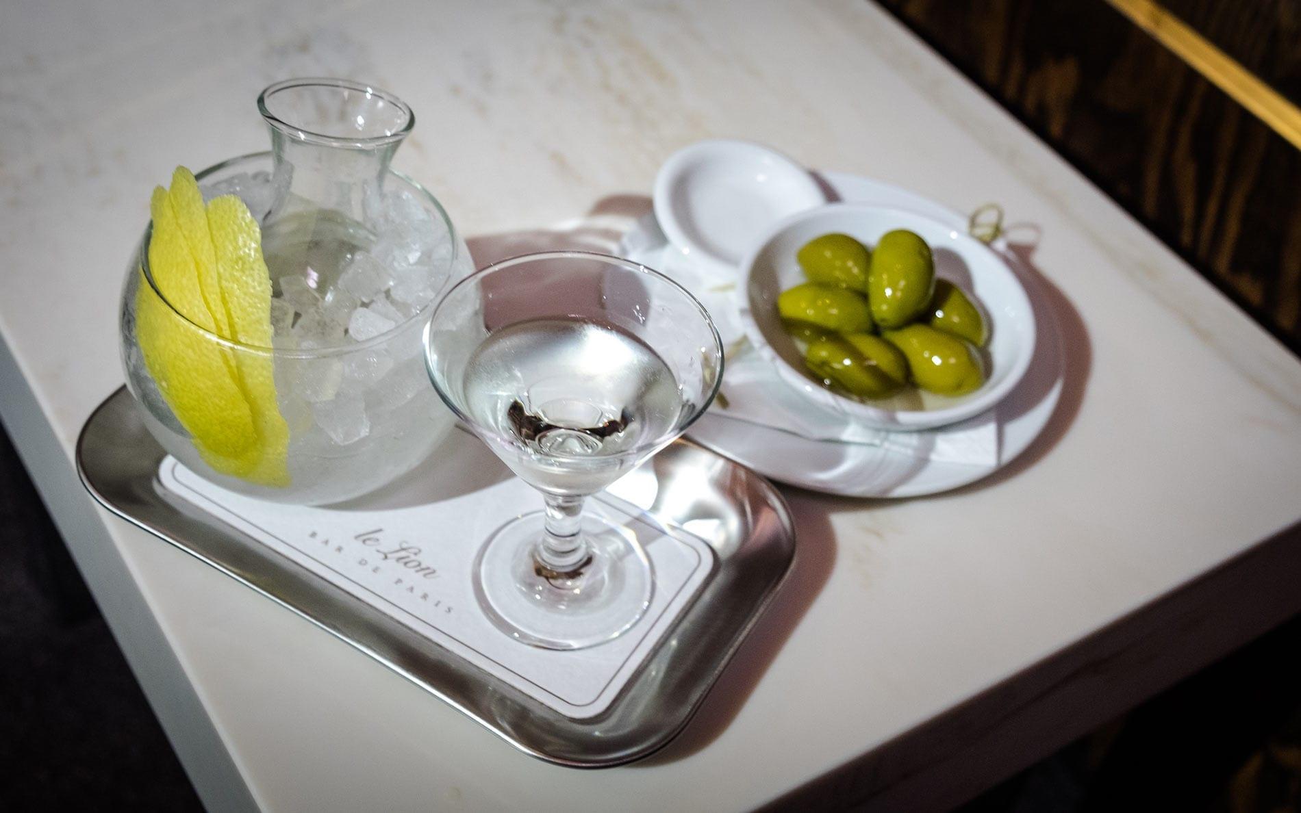 Dry Martini Le Lion Hamburg | Mixology - Magazin für Barkultur
