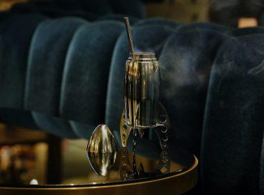 Der 1st Step Cocktail symbolisiert die Mondlandung
